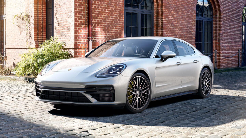 Porsche - Panamera Turbo S - Движущая сила.